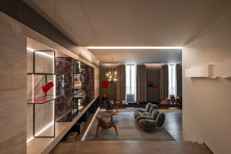 The Fendi Private Suites: Modern And Elegant Master Bedrooms In Rome fendi The Fendi Private Suites: Modern And Elegant Master Bedrooms In Rome CORNER SUITE