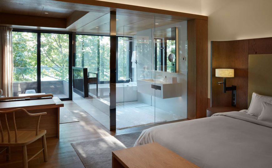 master bedroom ideas Master Bedroom Ideas Inside One Hotel A Modern Design Project By Tsao McKown 6 1 870x540