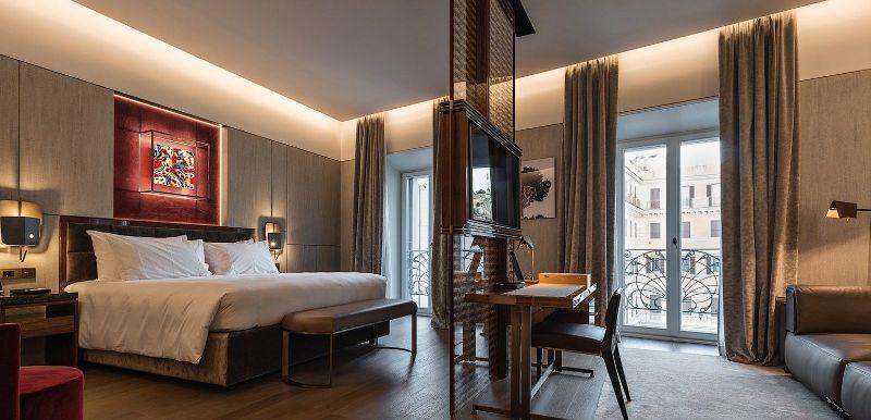 The Fendi Private Suites: Modern And Elegant Master Bedrooms In Rome fendi The Fendi Private Suites: Modern And Elegant Master Bedrooms In Rome PALAZZO SUITE 1