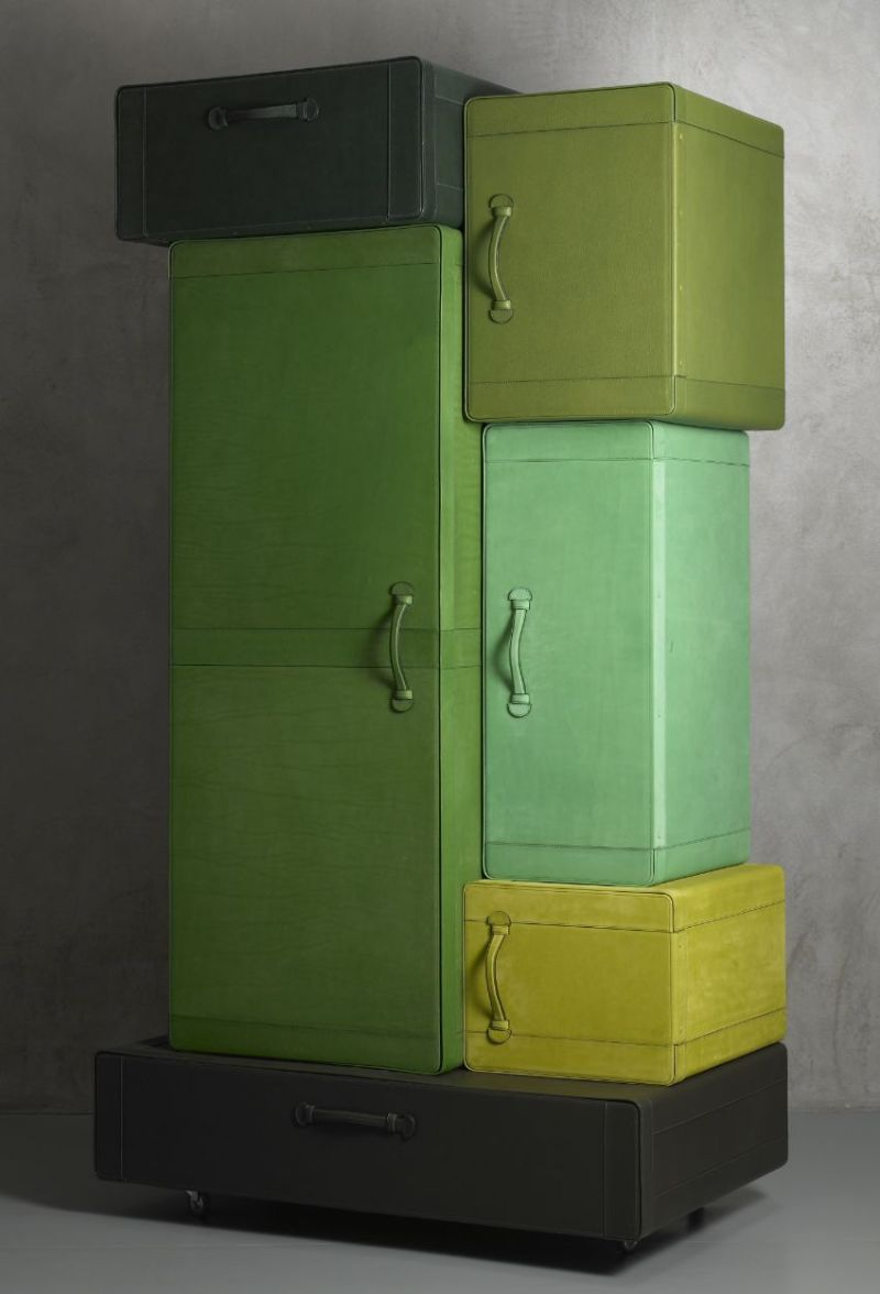 Iconic Bedroom Furniture Pieces By Maarten De Ceulaer maarten de ceulaer Iconic Bedroom Furniture Pieces By Maarten De Ceulaer PILE OF SUITCASES