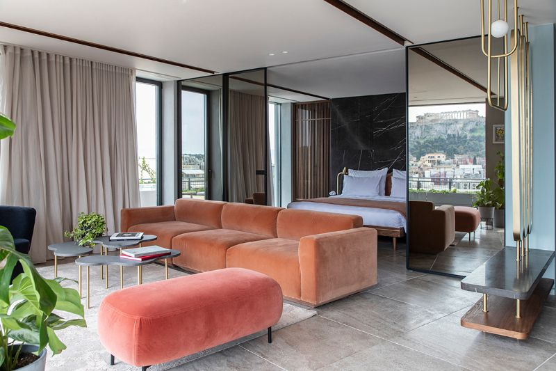 Where Glamour Lives: Get Amazed By The Perianth Hotel's Unique Design unique design Where Glamour Lives: Get Amazed By The Perianth Hotel's Unique Design Perianth Hotel Athens 1