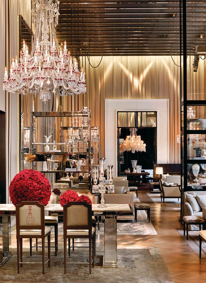 Classic Details Inside Baccarat Hotel: A Gilles and Boissier's Project gilles et boissier The Five-Star Baccarat Hotel: A Supreme Design By Gilles Et Boissier Classic Details Inside Baccarat Hotel A Gilles and Boissiers Project 10