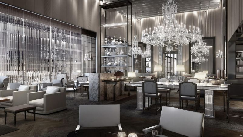 Classic Details Inside Baccarat Hotel: A Gilles and Boissier's Project gilles et boissier The Five-Star Baccarat Hotel: A Supreme Design By Gilles Et Boissier Classic Details Inside Baccarat Hotel A Gilles and Boissiers Project 14