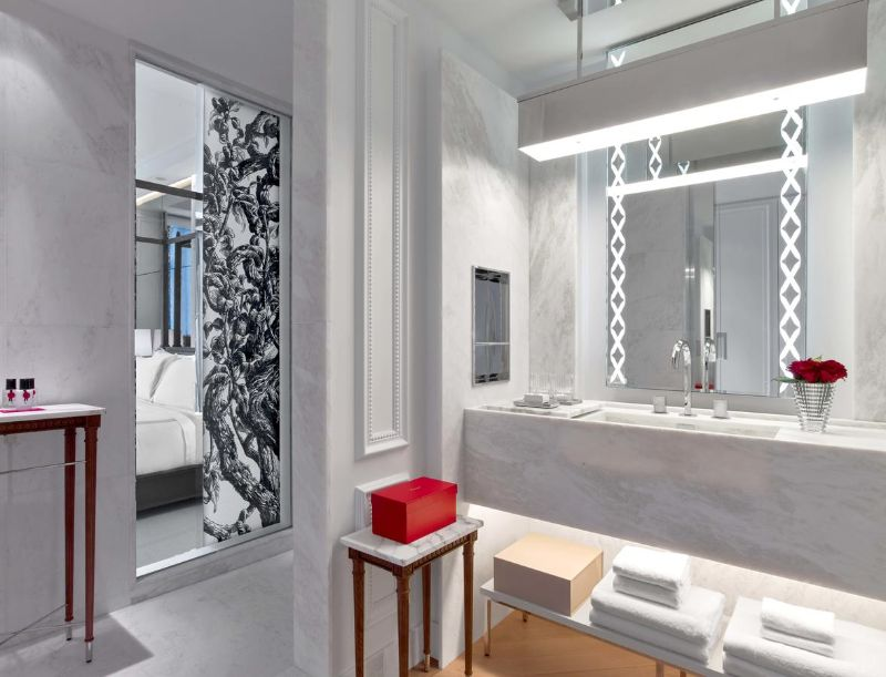 Classic Details Inside Baccarat Hotel: A Gilles and Boissier's Project gilles et boissier The Five-Star Baccarat Hotel: A Supreme Design By Gilles Et Boissier Classic Details Inside Baccarat Hotel A Gilles and Boissiers Project 5