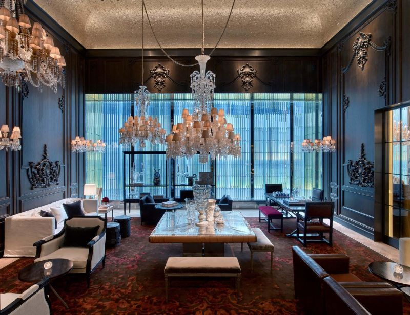Classic Details Inside Baccarat Hotel: A Gilles and Boissier's Project gilles et boissier The Five-Star Baccarat Hotel: A Supreme Design By Gilles Et Boissier Classic Details Inside Baccarat Hotel A Gilles and Boissiers Project 6