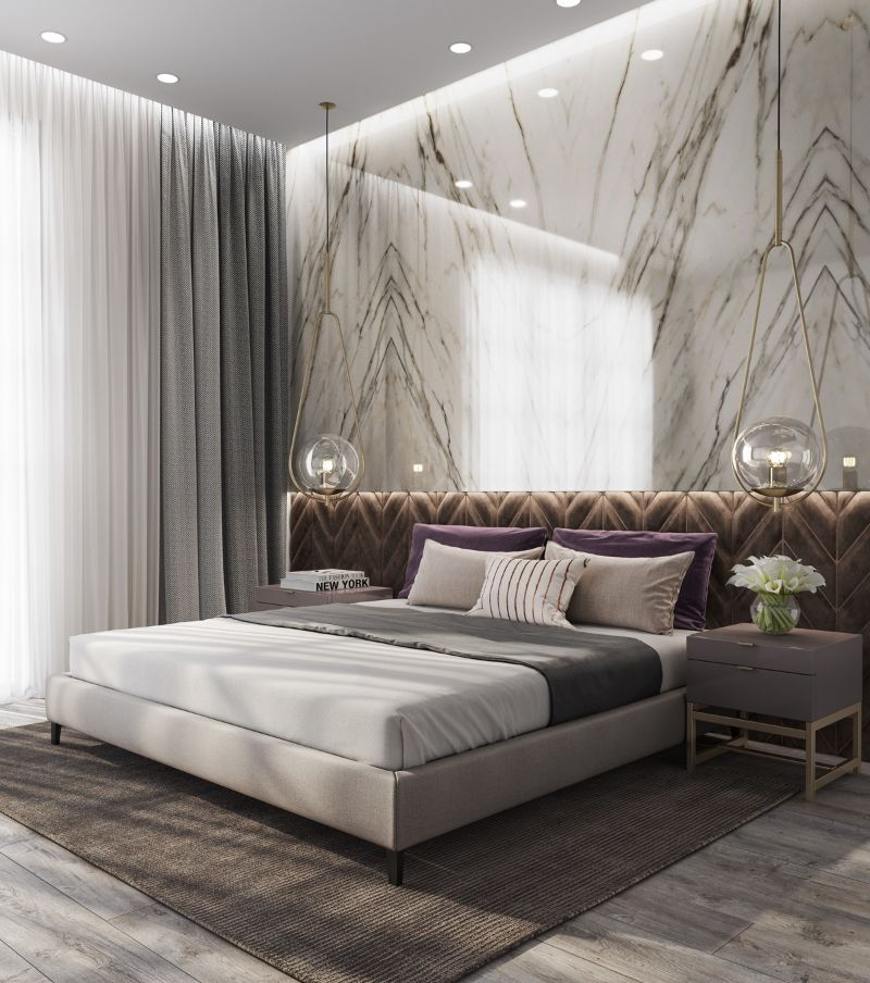 10 Contemporary Bedroom Wallpapers To Transform Your Private Space contemporary bedroom Dress Your Contemporary Bedroom Design With These Wallpaper Ideas 10 Contemporary Bedroom Wallpapers To Transform Your Private Space 13