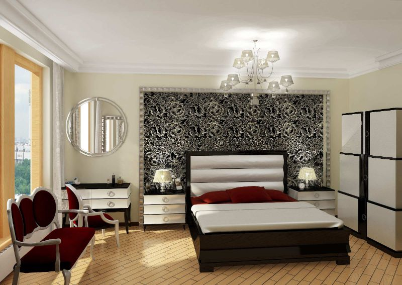 10 Contemporary Bedroom Wallpapers To Transform Your Private Space contemporary bedroom Dress Your Contemporary Bedroom Design With These Wallpaper Ideas 10 Contemporary Bedroom Wallpapers To Transform Your Private Space 14