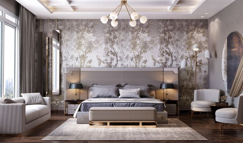 10 Contemporary Bedroom Wallpapers To Transform Your Private Space contemporary bedroom Dress Your Contemporary Bedroom Design With These Wallpaper Ideas 10 Contemporary Bedroom Wallpapers To Transform Your Private Space 9