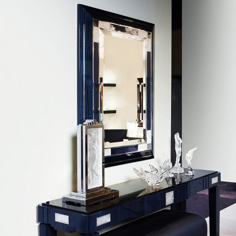 Lalique's Furniture And Lighting Pieces For Your Modern Bedroom lalique Lalique's Furniture And Lighting Pieces For Your Modern Bedroom ROSES MIRROR
