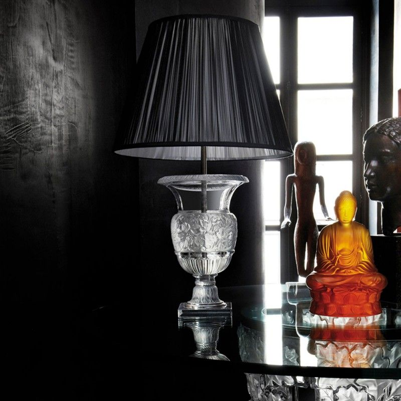 Lalique's Furniture And Lighting Pieces For Your Modern Bedroom lalique Lalique's Furniture And Lighting Pieces For Your Modern Bedroom VERSAILLES LAMP