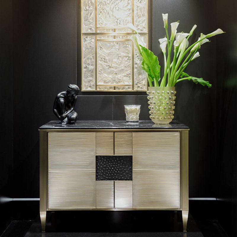 Lalique's Furniture And Lighting Pieces For Your Modern Bedroom lalique Lalique's Furniture And Lighting Pieces For Your Modern Bedroom VIBRATION DRESSER BY PIERRE YVES ROCHON 2