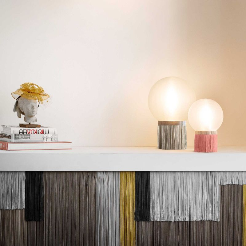 10 Modern Table Lamps By Slamp: A Glam Touch Inside Your Bedroom slamp 10 Modern Table Lamps By Slamp: A Glam Touch Inside Your Bedroom ATMOSFERA FRINGE TABLE lamp
