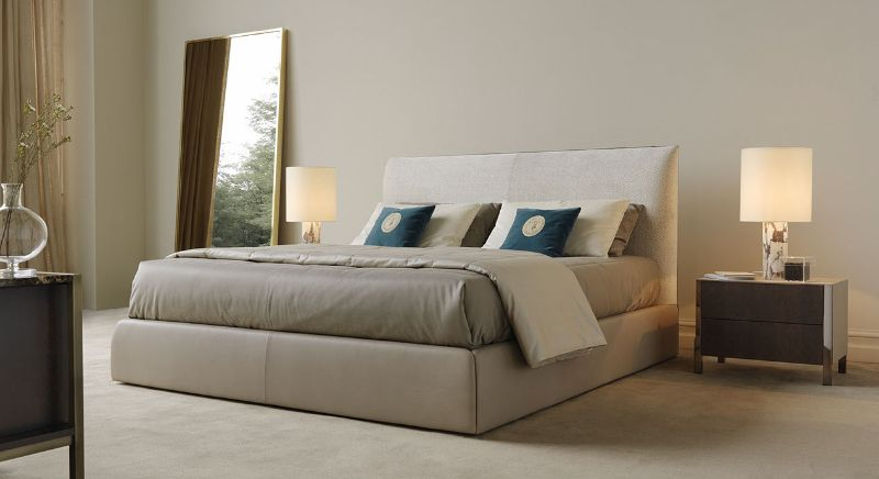 Pure Elegance Concepts: Modern Bedroom Furniture By Trussardi Casa trussardi casa Pure Elegance Concepts: Modern Bedroom Furniture By Trussardi Casa BAND BED