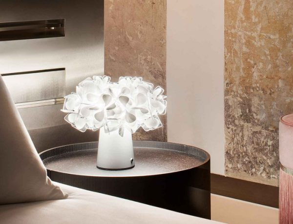 slamp 10 Modern Table Lamps By Slamp: A Glam Touch Inside Your Bedroom CLIZIA TABLE 1 600x460
