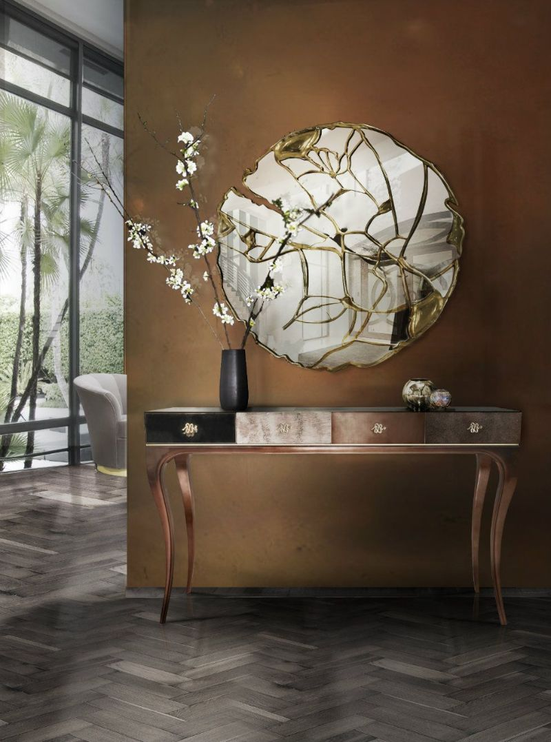 10 Magical And Unique Mirrors For Your Contemporary Bedroom unique mirrors 10 Magical And Unique Mirrors For Your Contemporary Bedroom GLANCE MIRROR 2