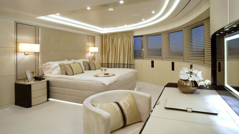 luxury bedrooms Imposing And Luxury Bedrooms Inside The Most Stunning Superyachts Imposing And Luxury Bedrooms Inside The Most Stunning Superyachts 5