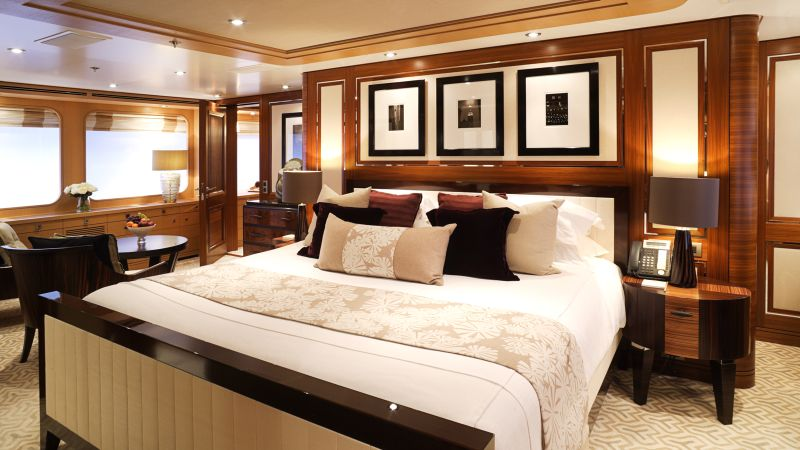 luxury bedrooms Imposing And Luxury Bedrooms Inside The Most Stunning Superyachts Imposing And Luxury Bedrooms Inside The Most Stunning Superyachts 7
