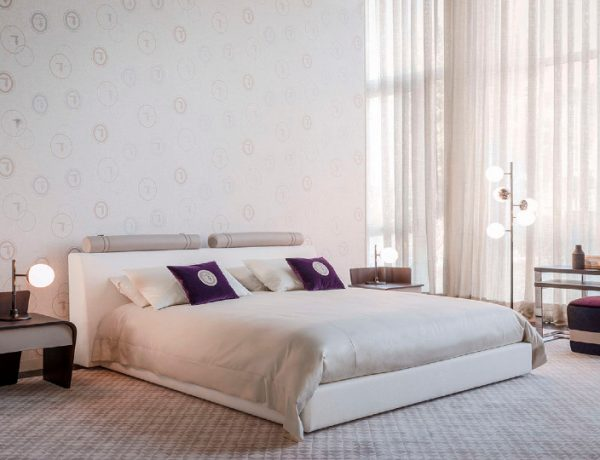 trussardi casa Pure Elegance Concepts: Modern Bedroom Furniture By Trussardi Casa LIAM BED 1 600x460