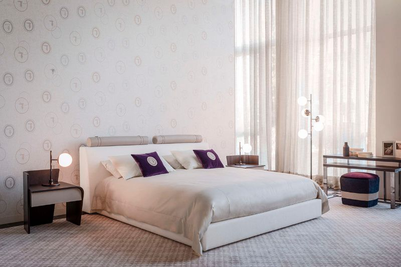 Pure Elegance Concepts: Modern Bedroom Furniture By Trussardi Casa trussardi casa Pure Elegance Concepts: Modern Bedroom Furniture By Trussardi Casa LIAM BED