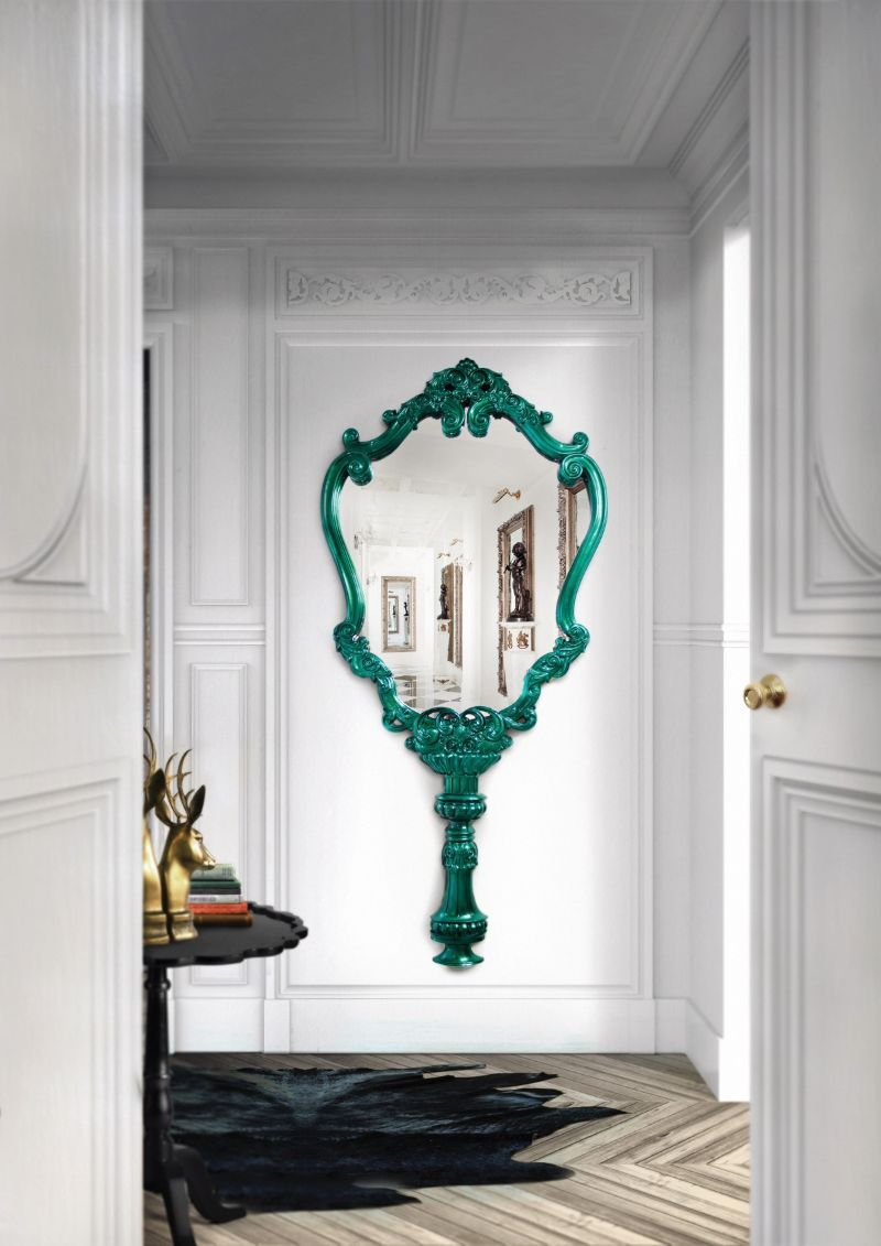 10 Magical And Unique Mirrors For Your Contemporary Bedroom unique mirrors 10 Magical And Unique Mirrors For Your Contemporary Bedroom MARIE TH  R  SE 2