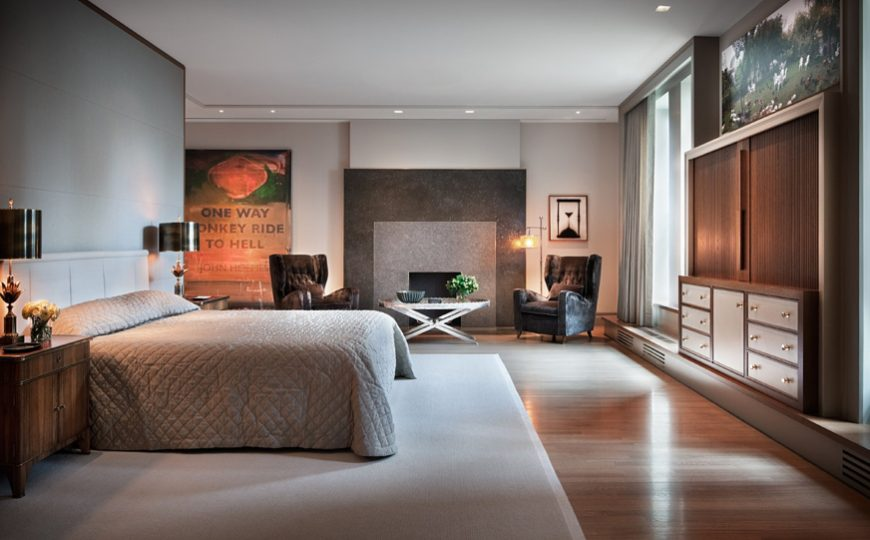 master bedroom ideas Master Bedroom Ideas Classic And Warm Bedroom Interiors Designed By Thad Hayes 5 1 870x540
