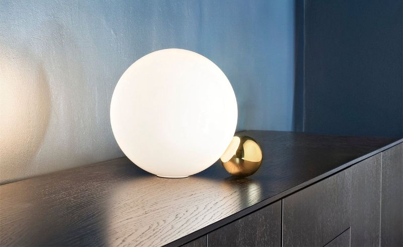 Designed By Top Product Designers: Imposing Table Lamps By Flos flos Designed By Top Product Designers: Imposing Table Lamps By Flos Copycat Michael Anastassiades