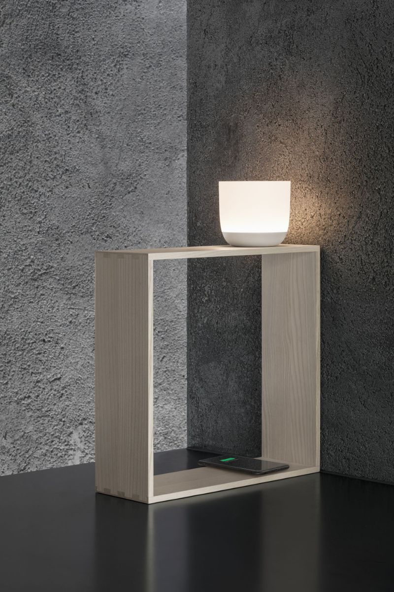 Designed By Top Product Designers: Imposing Table Lamps By Flos flos Designed By Top Product Designers: Imposing Table Lamps By Flos Gaku Wireless Nendo