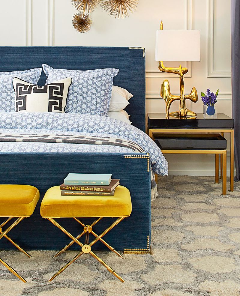 Unique Bedroom Interiors By New York's Top Interior Designers top interior designers Unique Bedroom Interiors By New York's Top Interior Designers Jonathan Adler