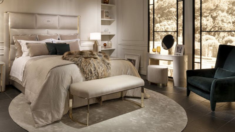 Cosmopolitan, Intense, Glamorous: Bedroom Furniture By Fendi Casa fendi casa Cosmopolitan, Intense, Glamorous: Bedroom Furniture By Fendi Casa MONTGOMERY BED