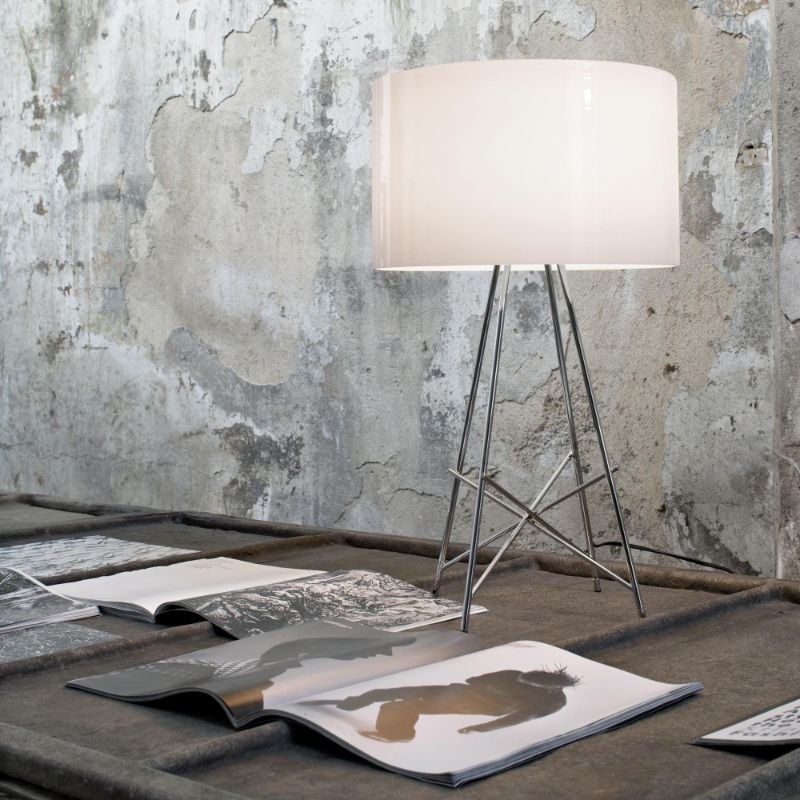 Designed By Top Product Designers: Imposing Table Lamps By Flos flos Designed By Top Product Designers: Imposing Table Lamps By Flos Ray Table Rodolfo Dordoni