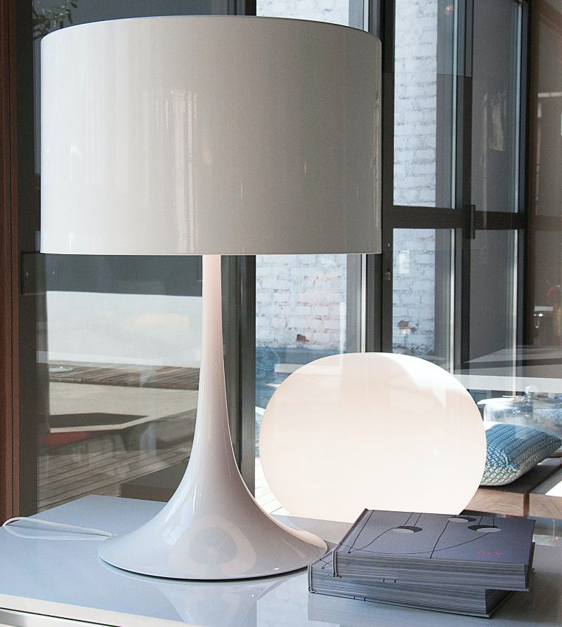 Designed By Top Product Designers: Imposing Table Lamps By Flos flos Designed By Top Product Designers: Imposing Table Lamps By Flos Spun Light Table 2 Sebastian Wrong