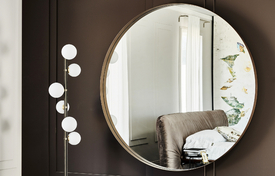 cattelan italia Expand Your Bedroom With Luxury Mirrors By Cattelan Italia Wish Magnum 1
