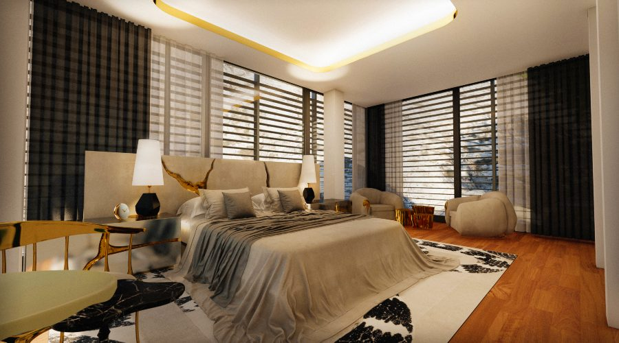 modern bedroom A Master Modern Bedroom That Overlooks The Mediterranean Sea 12 91 Photo BL 900x500 master bedroom ideas Master Bedroom Ideas 12 91 Photo BL 900x500