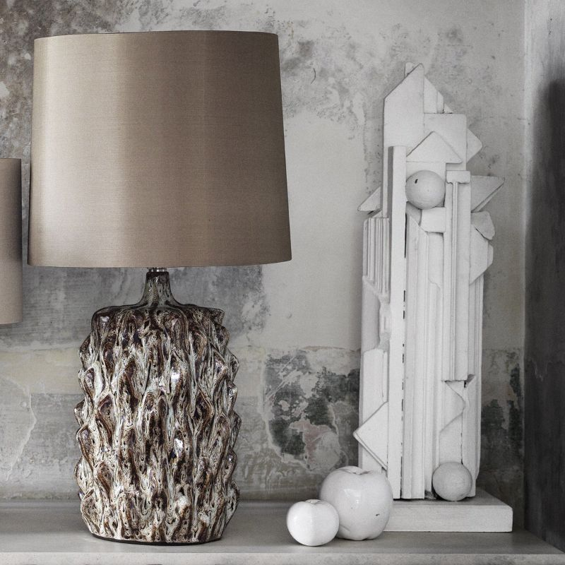 Tangible Pieces Of Magic: Unique Bedroom Table Lamps By Porta Romana porta romana Tangible Pieces Of Magic: Unique Bedroom Table Lamps By Porta Romana BAOBAB LAMP 1