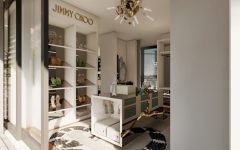 walk-in closets Lapiaz, An Inspiration For Millionaire Walk-In Closets' Storage jimmy choo 1 1 1 240x150