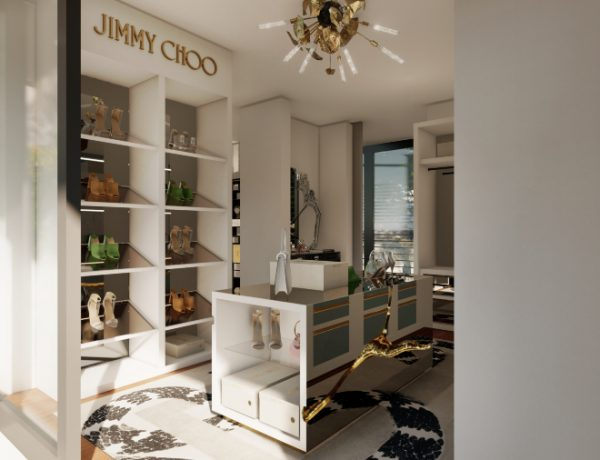 walk-in closets Lapiaz, An Inspiration For Millionaire Walk-In Closets' Storage jimmy choo 1 1 1 600x460 master bedroom ideas Master Bedroom Ideas jimmy choo 1 1 1 600x460