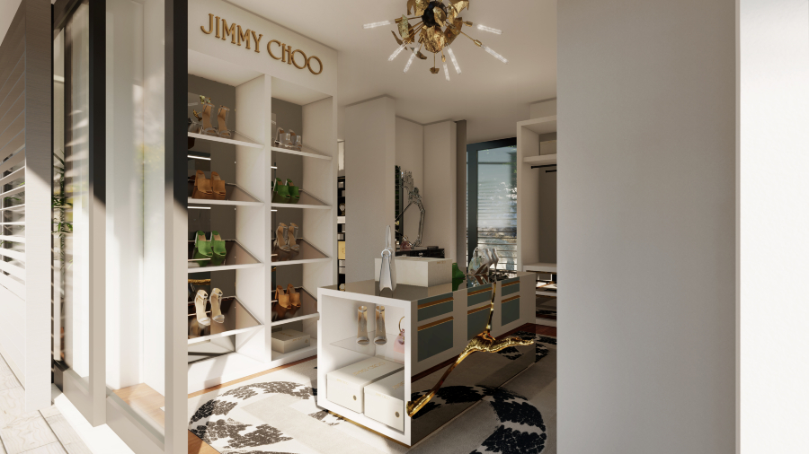 walk-in closets Lapiaz, An Inspiration For Millionaire Walk-In Closets' Storage jimmy choo 1 1 1
