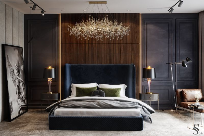 Discover The Right Lighting For Your Bedroom Design  bedroom design Discover The Right Lighting For Your Bedroom Design Contemporary Bedroom Designs That Will Help You Rest In Style 17 1