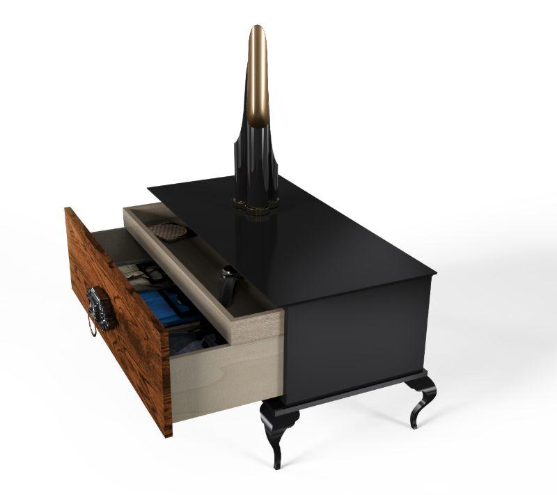 Luxury Nightstands by Boca do Lobo To Upgrade Your Bedroom Design  luxury nightstand Luxury Nightstands by Boca do Lobo To Upgrade Your Bedroom Design guggenheim 4 1