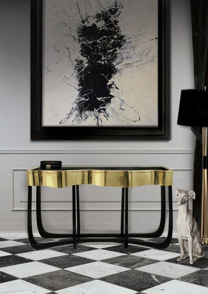 Luxury Console Tables By Boca Do Lobo To Improve Your Master Bedroom
