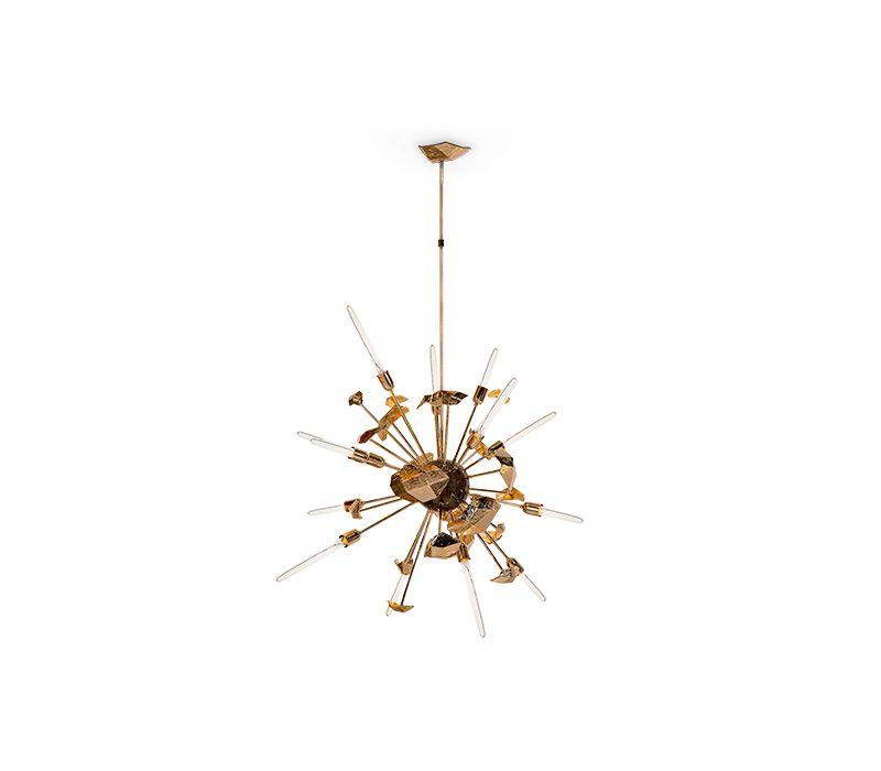 Lightning Ideas For a Modern Bedroom Design bedroom design Lighting Ideas For a Modern Bedroom Design supernova chandelier 01 boca do lobo