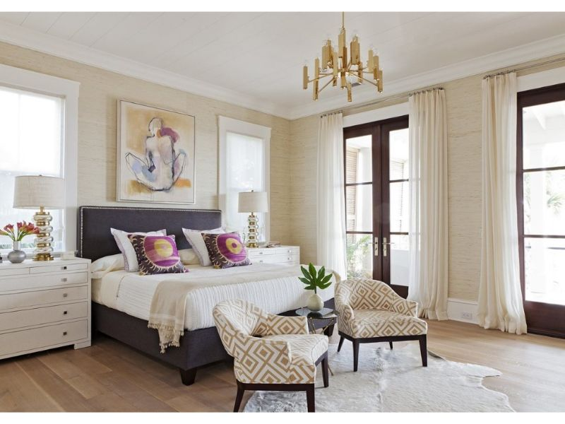 Winter Trends That Will Make You Want To Change Your Bedroom Design bedroom design Winter Trends That Will Make You Want To Change Your Bedroom Design Angie Hranowsky Bedroom in Coastal Style 2