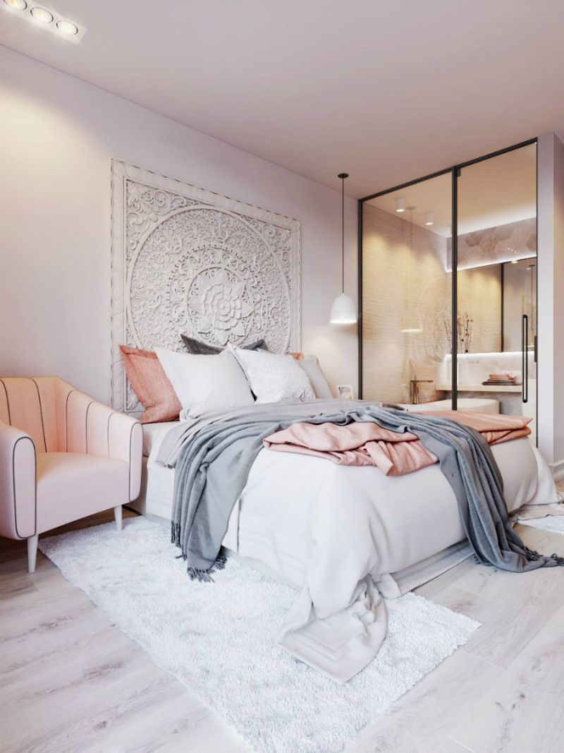 10 Ideas For Placing A Mirror Inside A Bedroom