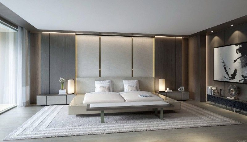10 Elegant yet Simple Bedroom Designs simple bedroom design 10 Elegant yet Simple Bedroom Designs charming modern bedroom design ideas modern master bedroom decor 1