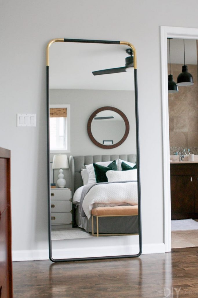 10 Ideas For Placing A Mirror Inside A Bedroom mirror inside a bedroom 10 Ideas For Placing A Mirror Inside A Bedroom full length mirror 683x1024