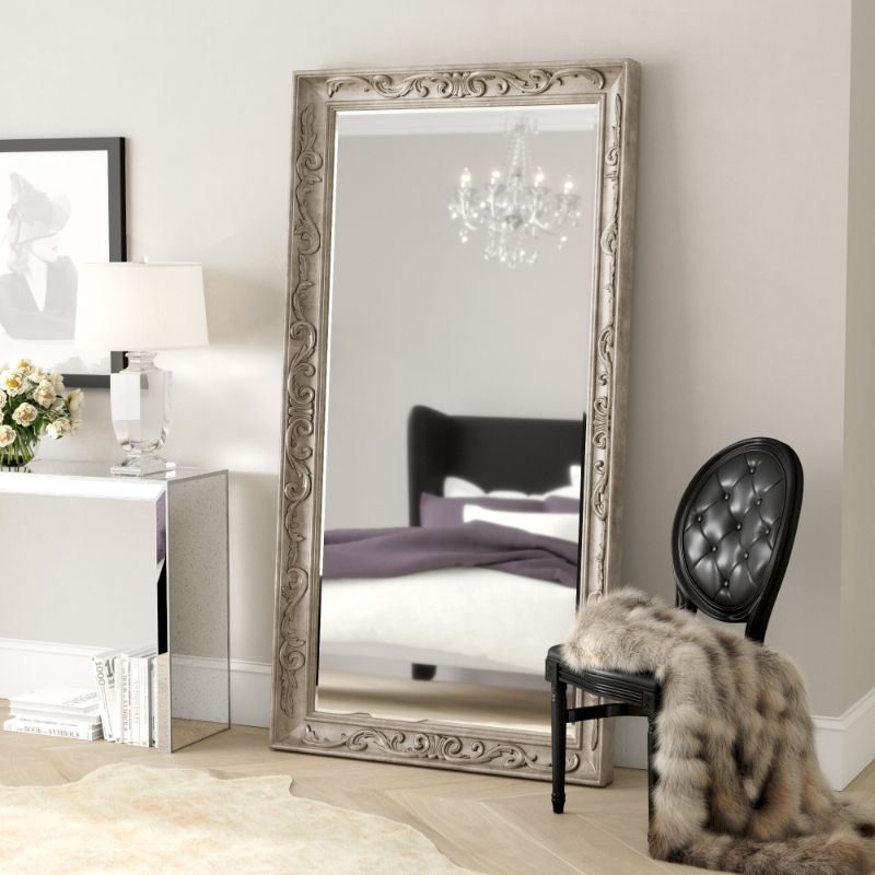 10 Ideas For Placing A Mirror Inside A Bedroom mirror inside a bedroom 10 Ideas For Placing A Mirror Inside A Bedroom holmes traditional floor full length mirror