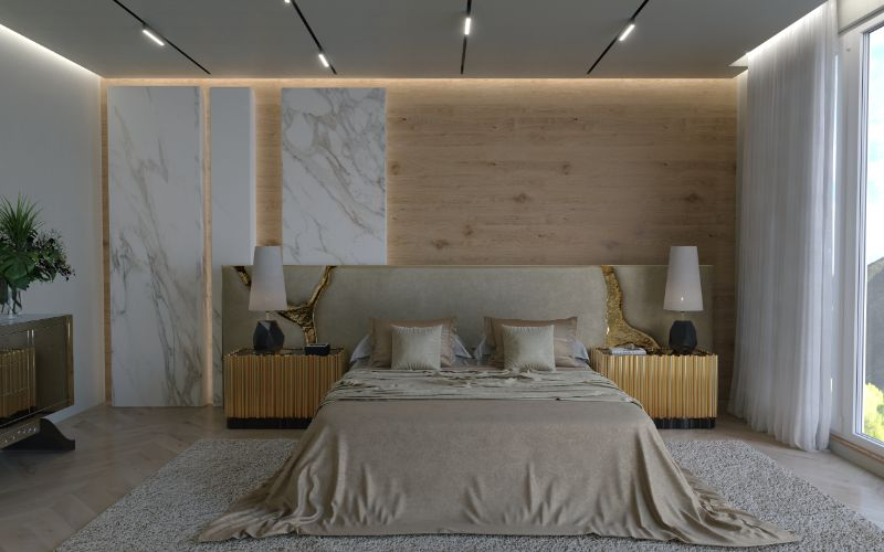 Winter Trends That Will Make You Want To Change Your Bedroom Design bedroom design Winter Trends That Will Make You Want To Change Your Bedroom Design lapiaz white headboard 06 1
