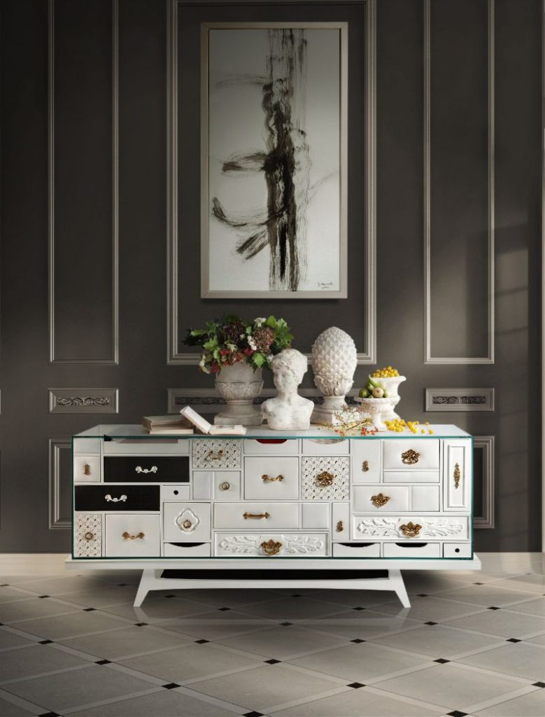 Our Top Modern Sideboards To Complement Your Bedroom Design  modern sideboard Our Top Modern Sideboards To Complement Your Bedroom Design mondrian white 779x1024