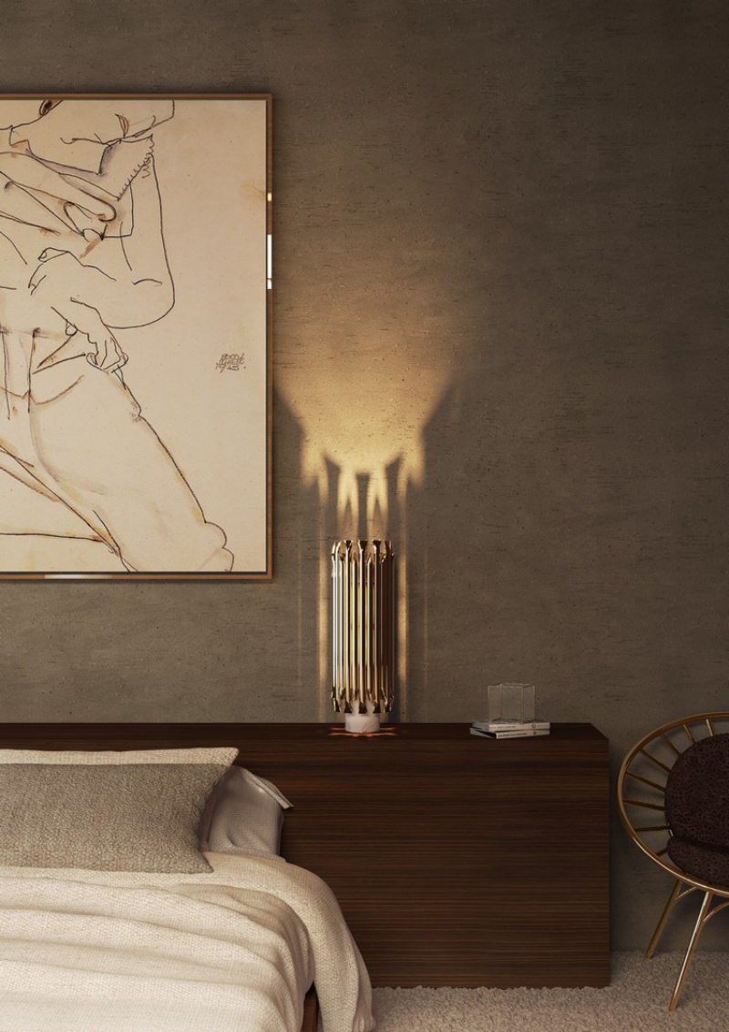 Decorating Ideas To Achieve A Sexy Bedroom By Top Interior Designers sexy bedroom Decorating Ideas To Achieve A Sexy Bedroom By Top Interior Designers Midcentury bedroom lighting ideas by Delightfull 1