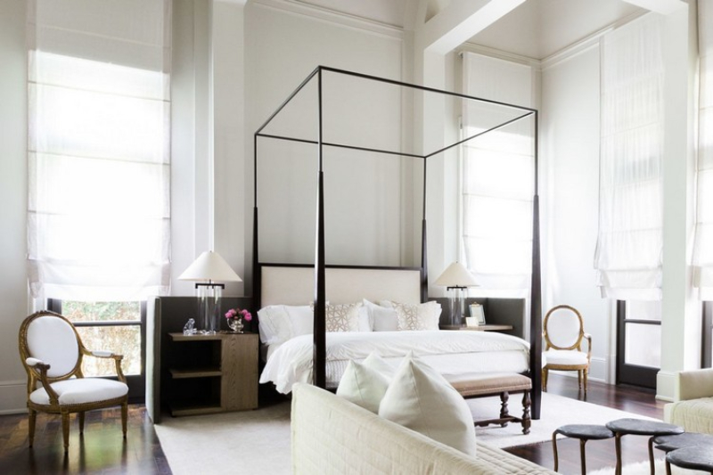 Decorating Ideas To Achieve A Sexy Bedroom By Top Interior Designers sexy bedroom Decorating Ideas To Achieve A Sexy Bedroom By Top Interior Designers Monochromatic bedroom decor ideas 1